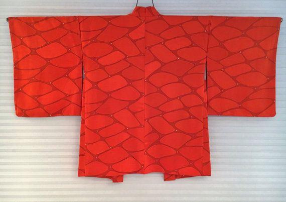 Vintage Japanese Haori Kimono Jacket by Setsuri on Etsy