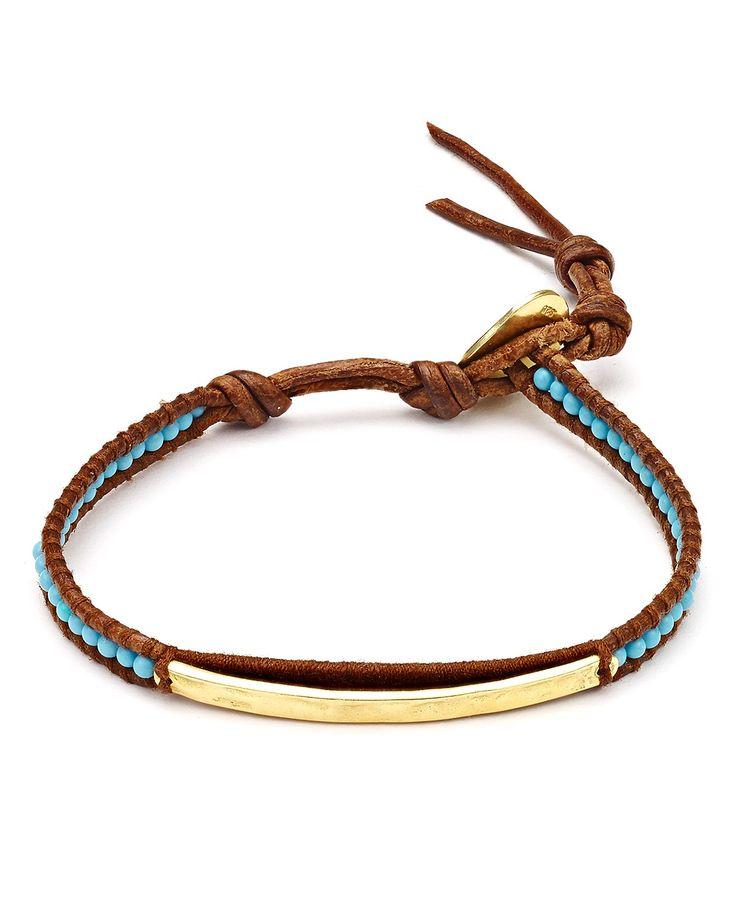 Chan Luu Turquoise Beaded Bracelet   Bloomingdale's