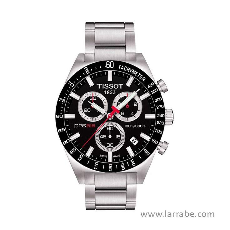 Reloj Tissot T-Sport PRS 516 Chronograph, integra cronógrafo.  #relojesdeportivos #deporte #actividades #relojes #Tissot #moda #mujer #hombre