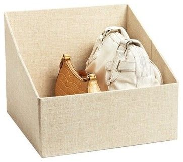 The Container Store Handbag Storage Bin - contemporary - closet organizers - Amazon