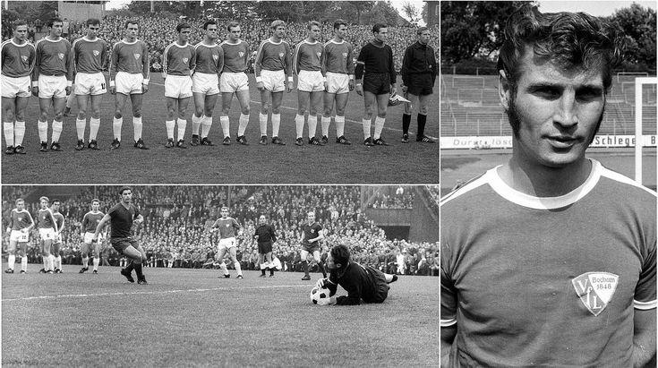 Pokalrunde 1967/68  2-1 gegen Bayern München vor 41.000 Zuschauern