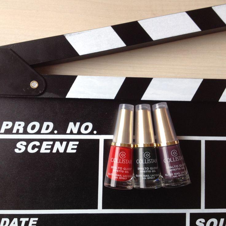 Smalto Gloss® Effetto Gel   n.53 Borgogna Anna, n.580 Rosso Sofia, n.588 Verde Paola#collistar #bellezzaitaliana #italy  #makeup #bellezza #ciak #smalti #gloss #gel #nails# unghie