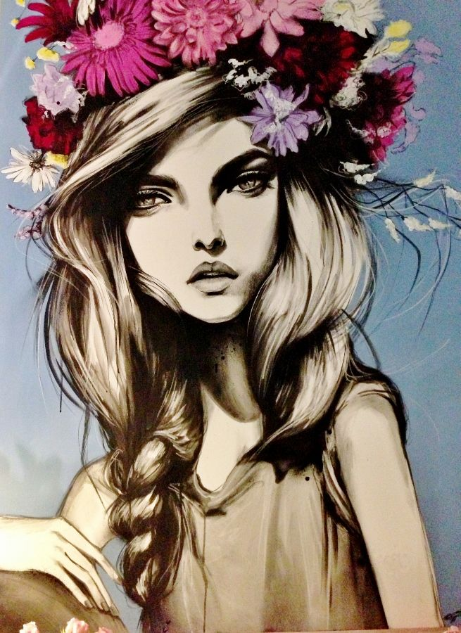 The Satchel: [Pippa McManus Illustration] With Flowers in Their Hair
