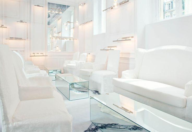 The White Lounge, La Maison Champs Elysées by Martin Margiela