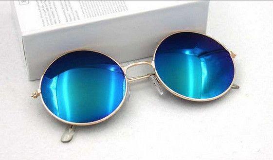 Hot Vintage Round lens Sunglasses Men/women Polarized Gafas Oculos Retro Coating Sun Glasses Round