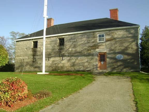 Charlotte County Courthouse, St Andrews, New Brunswick  - built in the 1840's, it's the oldest standing courthouse in Canada  - the apparition of a man seen carrying rope who gives off an immense amount of negative energy is reported frequently