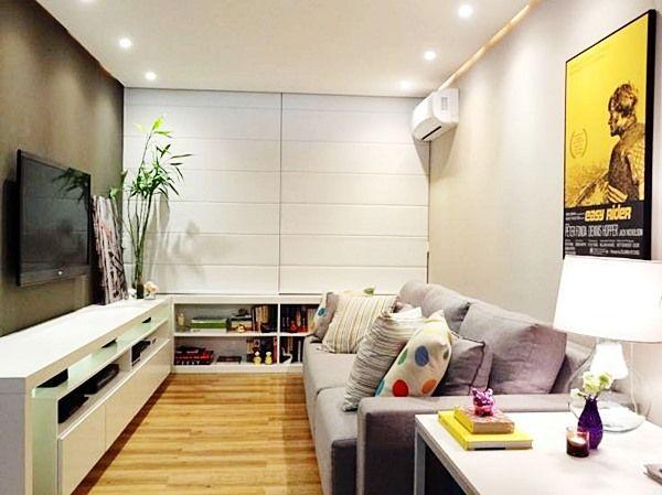 17 melhores ideias sobre cortinas modernas para sala no for Salas para casas chiquitas