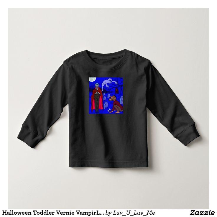 Halloween Toddler Vernie VampirLong Sleeve T-Shirt