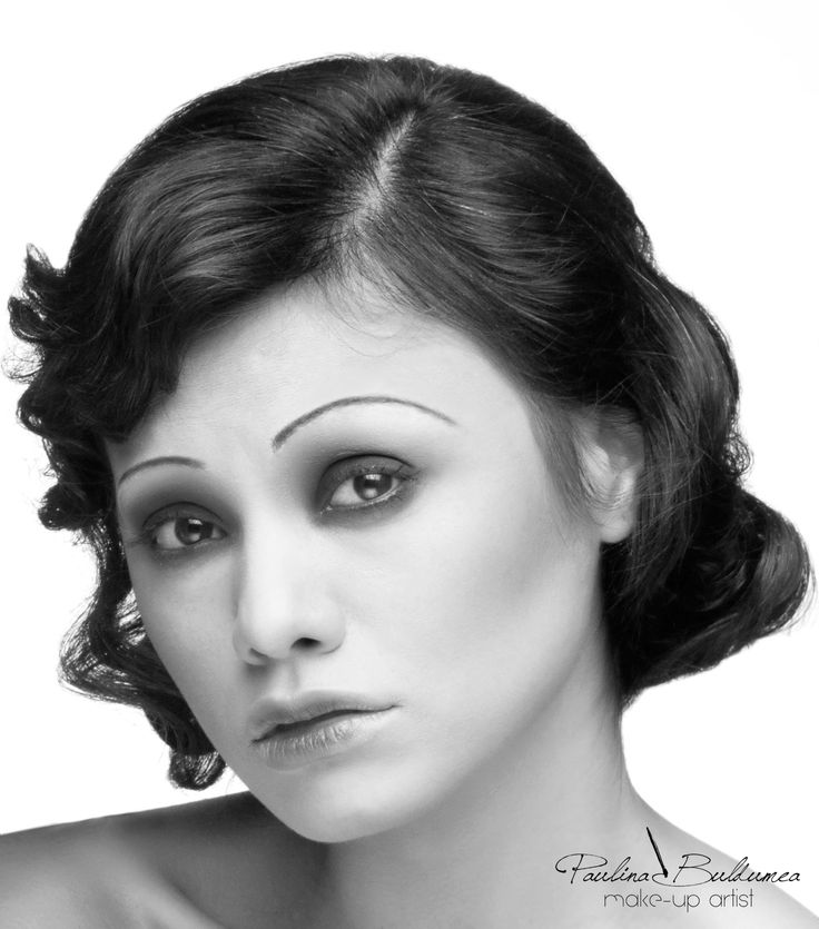 Make-up 1920. How to get the look! MUA: Paulina Buldumea Photo: Creathieves