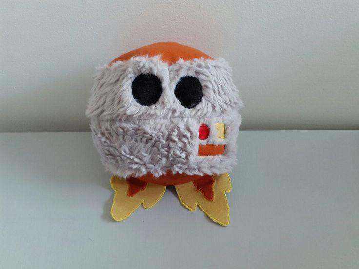 Soft toy grimbot!