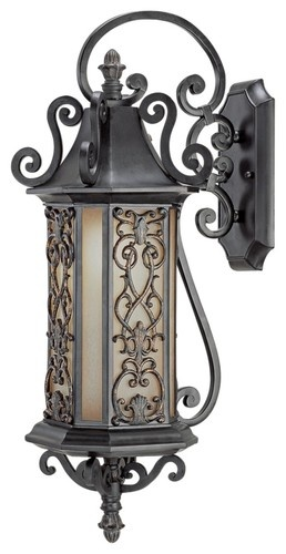 Forsyth Collection 27 1 4 High Outdoor Wall Light Traditional Lighting