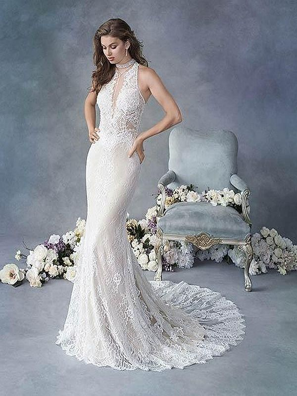Kenneth Winston Size 10 1821 Almond Ivory Gown Kenneth Winston