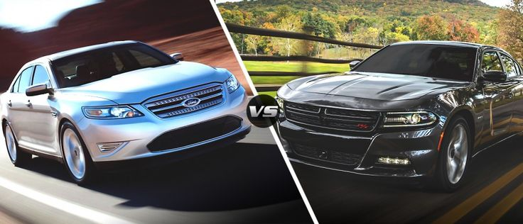 2015 #Dodge Charger RT vs. 2015 Ford Taurus SHO