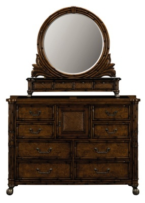 Product West Indies Dresser Mirror American Signature West Indies Collection Decoration