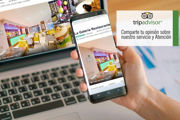 Su opinión es muy importante para nosotros, por eso queremos que nos compartas tu experiencia en nuestro restaurante! Ingresa a https://goo.gl/JZCDBL  Conoce mas de Restaurante la Galería en www.hotelarizonasuites.com #Cucuta #RestaurantesCucuta #Colombia #HotelesCucuta