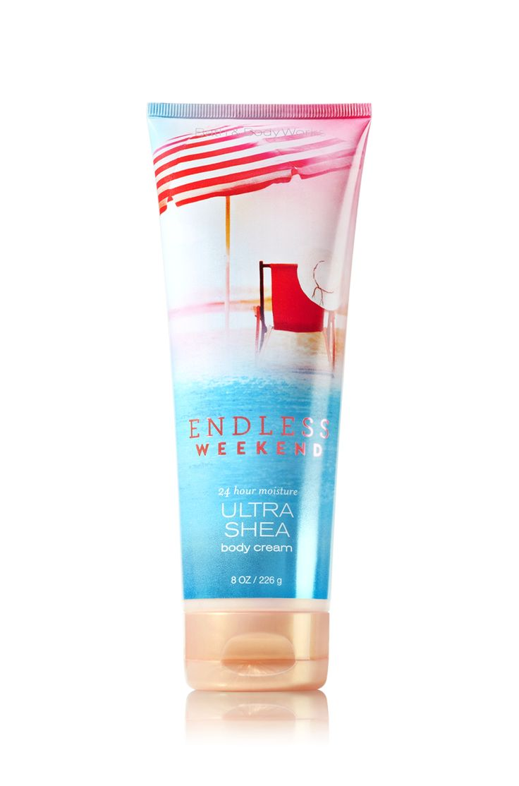 Endless Weekend Ultra Shea Body Cream - Signature Collection - Bath & Body Works