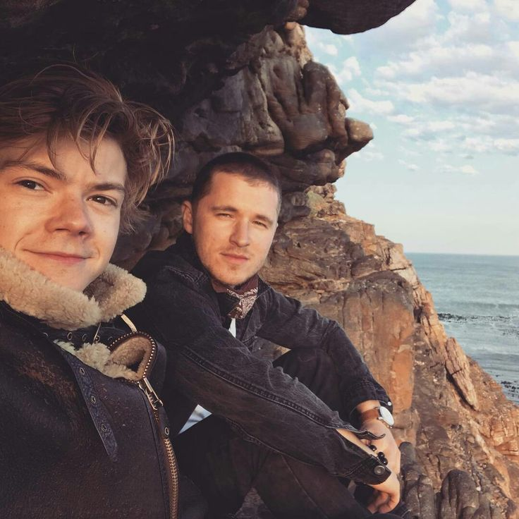 New picture of Thomas and his best friend, Jack.