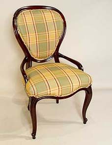 queen anne style chair staircase lift furniture is classic for colonial homes plaid parade pinterest styles and