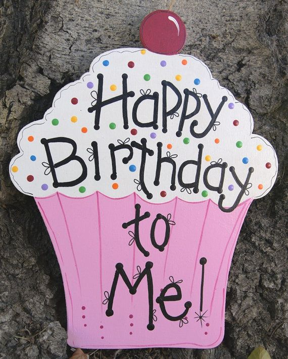 Happy Birthday Wood Sign Wall Or Door Hanging Decoration