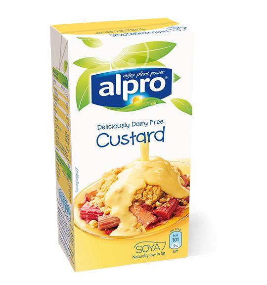 Alpro Deliciously Dairy Free Custard, 4 Syns per 100g