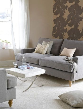 Clean Lines On The Sofa