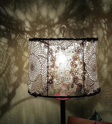 78 best images about lighting on pinterest chandelier for How to make a chandelier out of a lamp shade