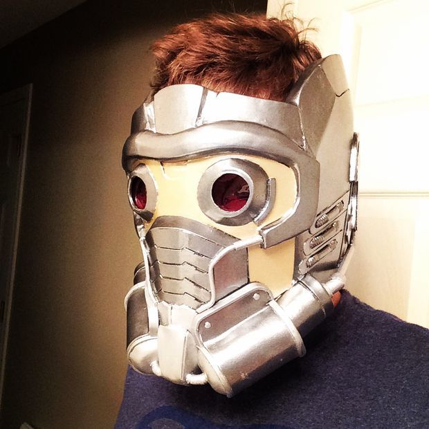 DIY Star-Lord Helmet - In this tutorial they will be showing you how to make a Star-Lord helmet from Guardians of the Galaxy using a pre-existing pepakura template.They encourage you to play with different techniques in this process.