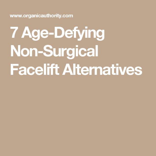 7 Age-Defying Non-Surgical Facelift Alternatives
