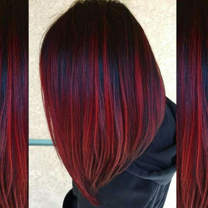 Love the dark lowlights and red highlights