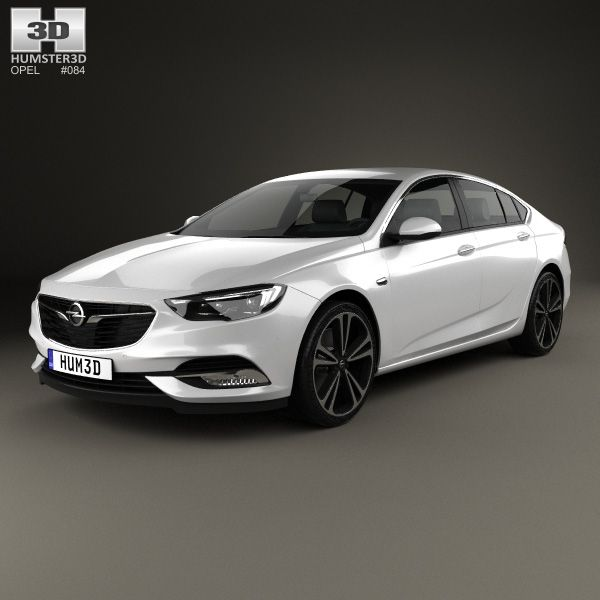 3D Model Of Opel Insignia Grand Sport 2017
