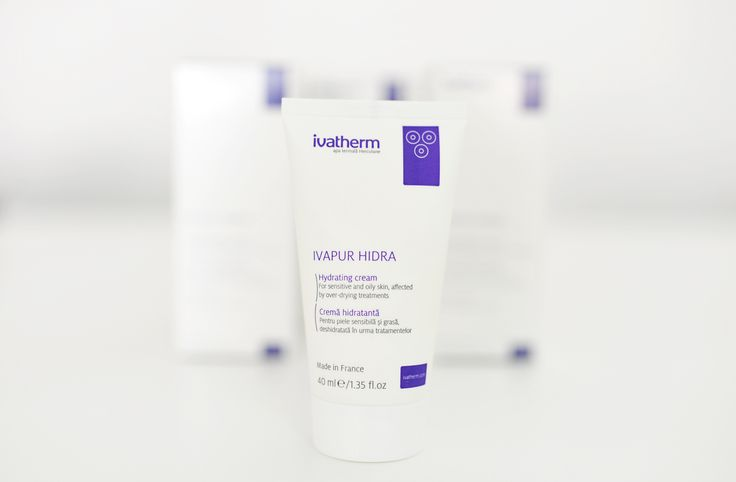 #IVAPUR HIDRA #IVATHERM Apply in the morning and evening to clean and dried #skin. It is an excellent #make-up #foundation.