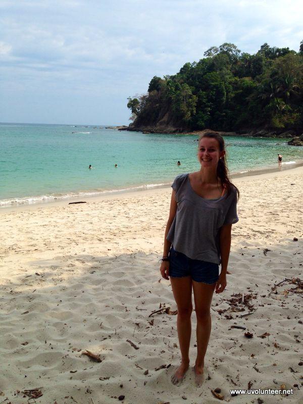 Posing on the beach, Costa Rica. https://www.uvolunteer.net/  volunteer opportunities, volunteer overseas, volunteer organization, volunteer opportunities abroad, volunteer work