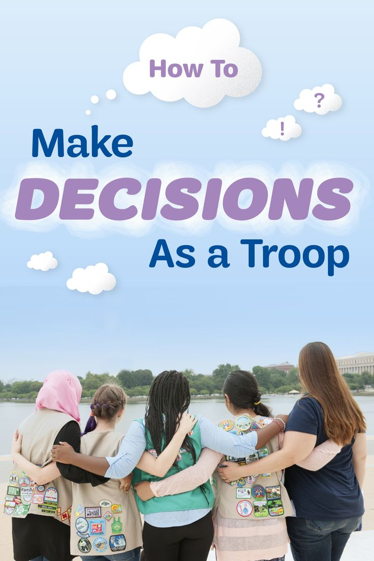 9 tried-and-true ways to host awesome brainstorming sessions and make group decisions that every Girl Scout can be happy about.