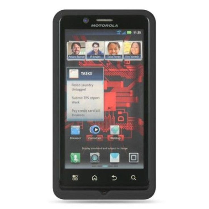 Insten Silicone Skin Gel Rubber Case Cover For Motorola Droid Bionic XT875 Targa #2293005