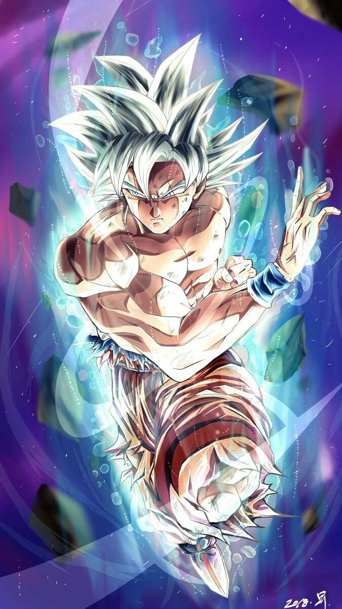 Goku Ultra Instinct | Coloriage dbz, Personnages de dragon ball, Fond d'écran goku