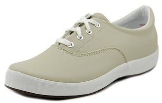 Grasshoppers Janey Women Round Toe Leather Beige Sneakers.