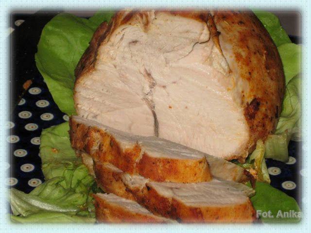 Domowa kuchnia Aniki: Pieczona pierś z indyka