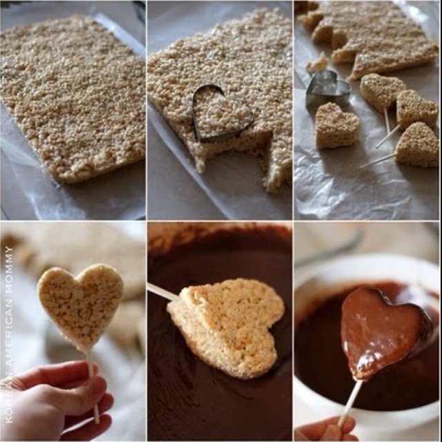 These look so yummy and so easy to make. Perfect valentine treat!