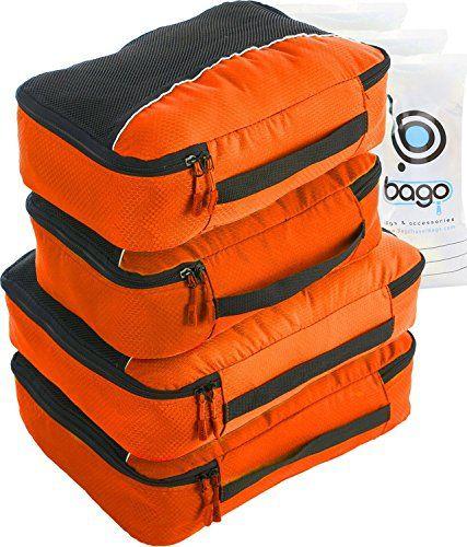 Nuova offerta in #luggage : 4Pz Bago Cubi Di Imballaggio - Set per Viaggi (2Orange 2Orange)  6Pz Sacchetti Organizzatori per i bagagli a soli 2391  EUR. Affrettati! hai tempo solo fino a 2016-10-29 23:34:00
