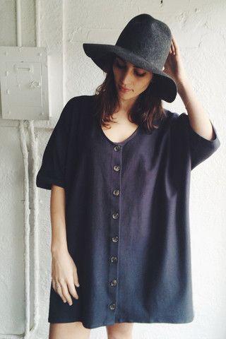 Revisited Sweatshirt Cardigan Dress