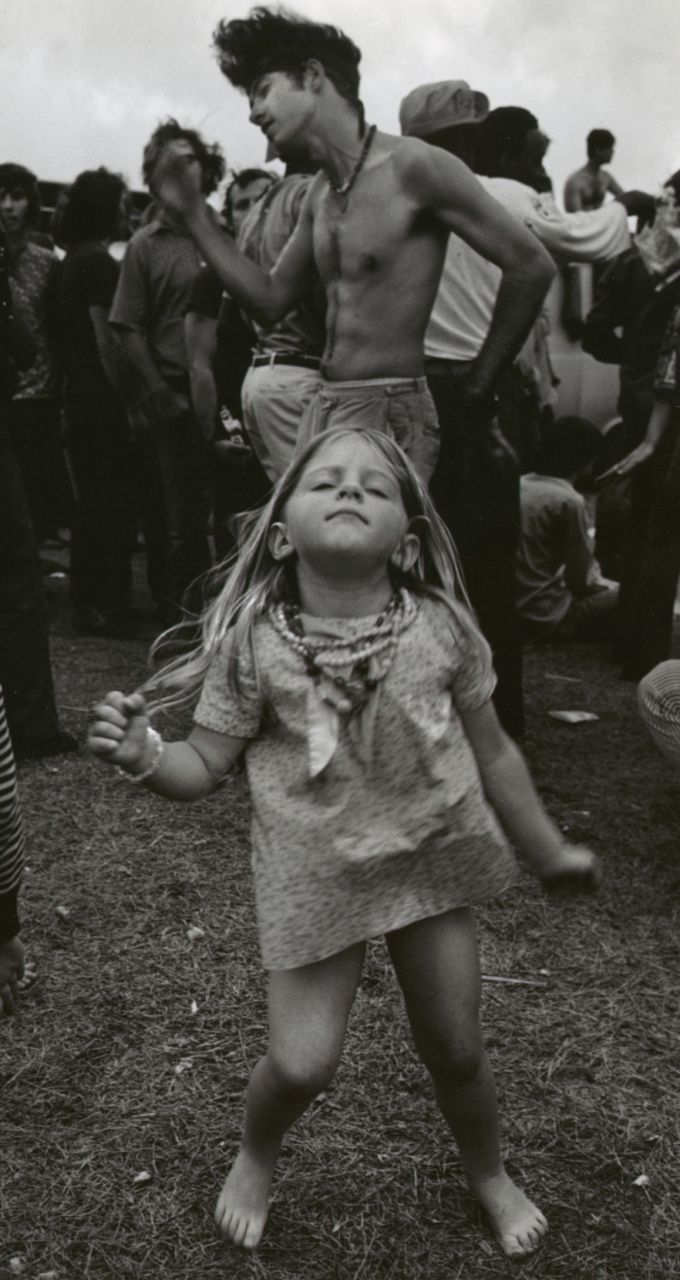 Feeling the music… New Orleans, 1972. Photo by George W. Gardner.