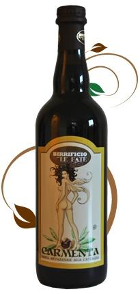 Birrificio Le Fate - Birra Carmenta, Birra dal colore bruno intenso - #Comunanza (AP) #birra #beer