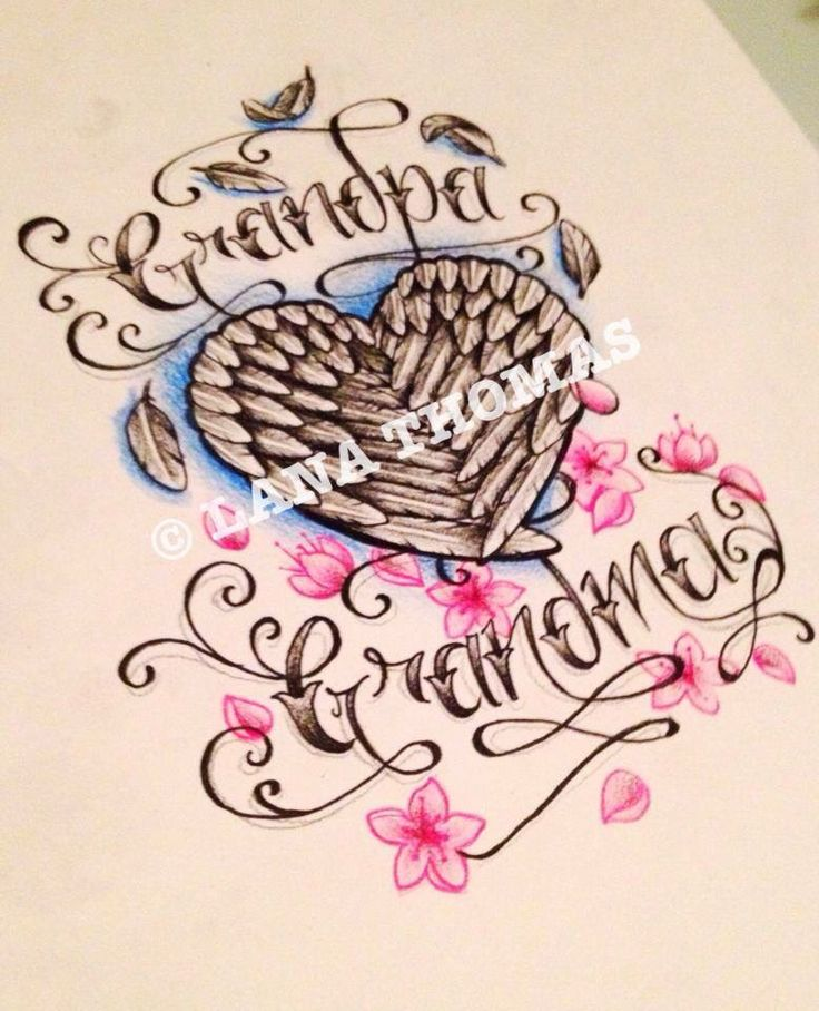 grandparent memorial tattoo tattoos pinterest grandparents to the and the o 39 jays. Black Bedroom Furniture Sets. Home Design Ideas