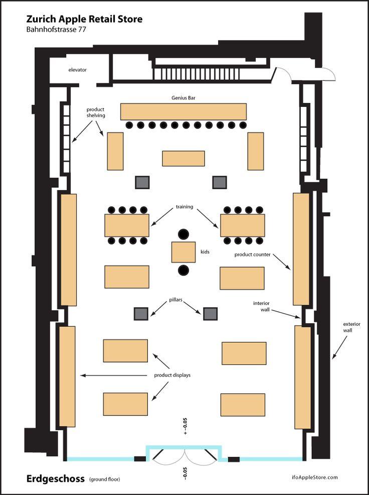 Apple store floor plan                                                                                                                                                     More
