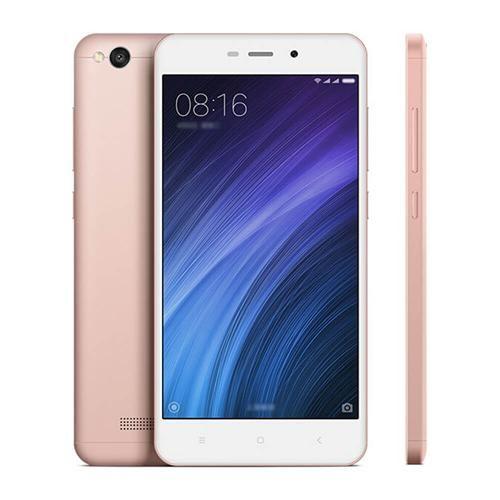 Xiaomi redmi 4A 5.0inch HD MIUI 8 Android 6.0 4G LTE okostelefon Qualcomm Snapdragon 425 négymagos 1,4 GHz-es 2GB 16GB 5.0MP 13.0MP 3120mAh akkumulátor WIFI GPS - Rose Gold