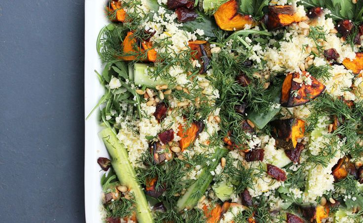The Healthy Ingredient — Middle Eastern Salad with Yoghurt