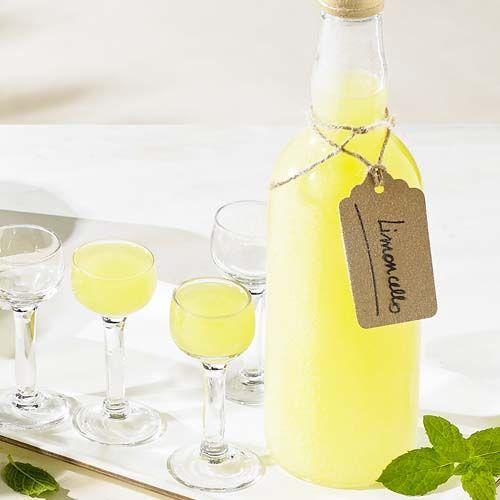 Huisgemaakte limoncello