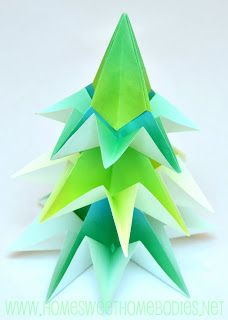 Origami Tree Tutorial