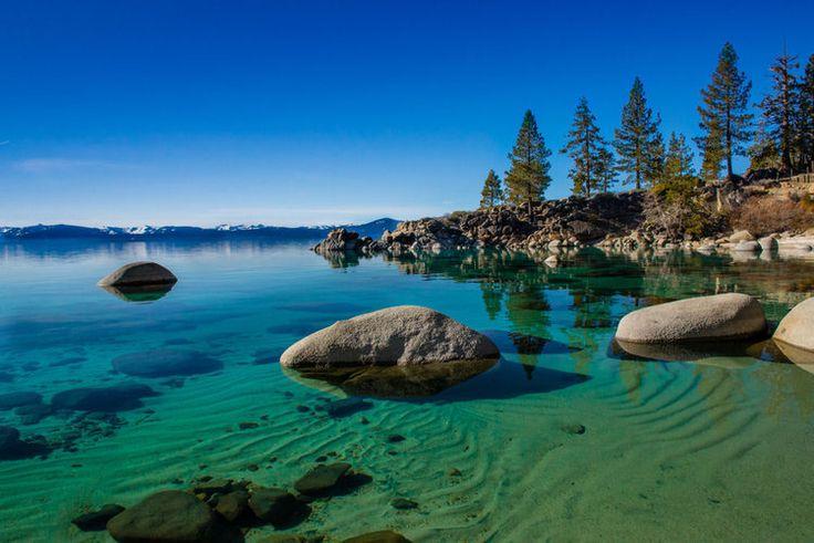 Le lac Tahoe, Etats-Unis