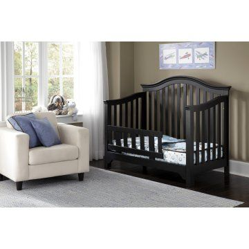 Baby Mesa Toddler Guard Rail Kit - Black | Buy this for 56% OFF #toddler #crib #deals #cheap #frugal